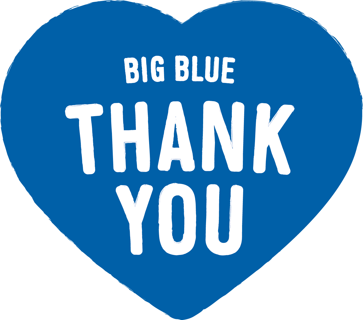 Big Blue Thank You